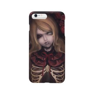 薔薇の少女 Smartphone cases