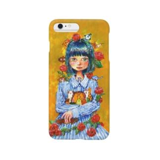 夢を抱える女の子 Smartphone cases