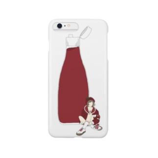 トマトケチャプ女子 Smartphone cases