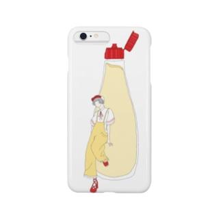 マヨネーズ女子 Smartphone cases