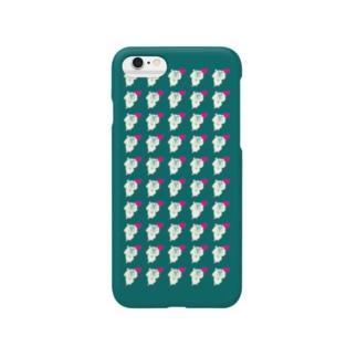 ハーンがいっぱいケース 6s/6 みどり Smartphone cases