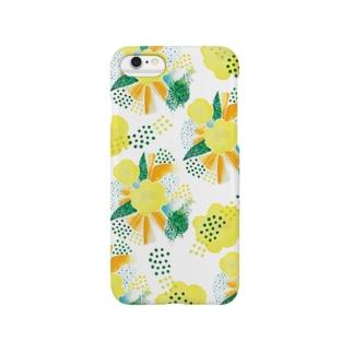 yellow_flower スマートフォンケース