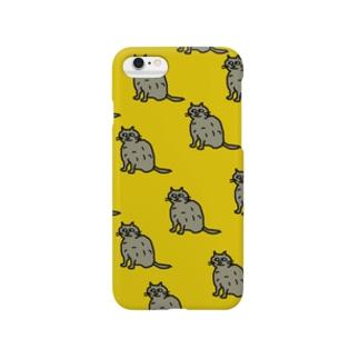 neko yellow Smartphone cases
