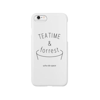 TEA TIME & forrest スマートフォンケース