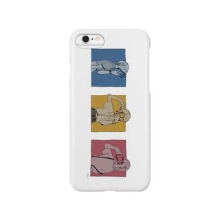 自撮り女子 Smartphone cases