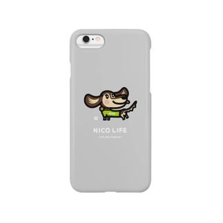 ハッピーダックス_nico_c25 Smartphone cases