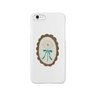 綿毛のお花 Smartphone cases