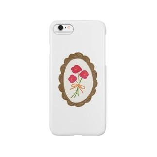 nulの薔薇色のお花 Smartphone Case
