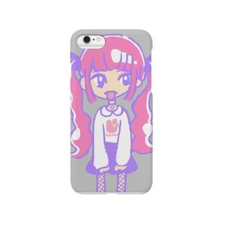 ピンクツインテール Smartphone Case