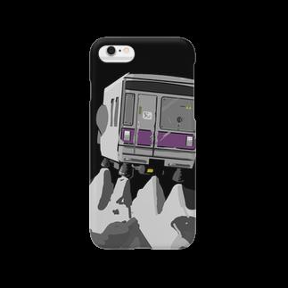 33888.の月面着陸を試みる03系 Smartphone cases