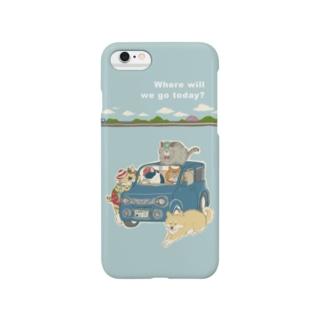 ねこのきょうだい Smartphone cases