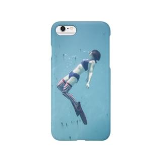 水中ニーソプラス:P45A Smartphone Case