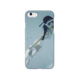 水中ニーソプラス:P06 Smartphone Case