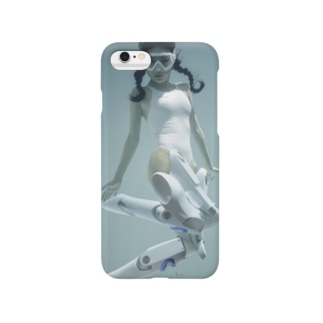 水中ニーソプラス:P03 Smartphone Case