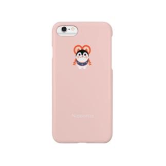 いぬはりこ pink Smartphone cases