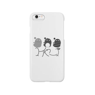 スイヤーズ(モノクロ) Smartphone cases