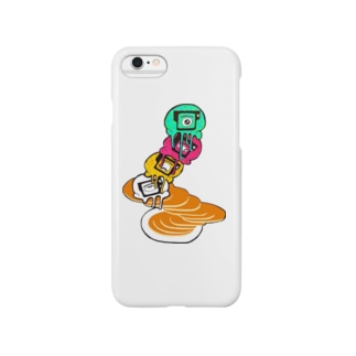 Pancake with Eyescream Smartphone cases