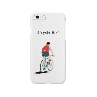 Bicycle Girl iPhone6用 Smartphone cases