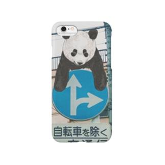 パンダ(標識) スマートフォンケース