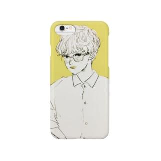 めがねワイシャツちゃん Smartphone cases