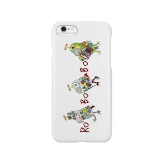 ROBOBO ちょびすけロボ ボルトロボ ボウ助ロボ Smartphone cases