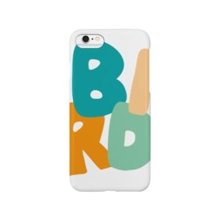 BIRD(カワセミブルー) スマートフォンケース