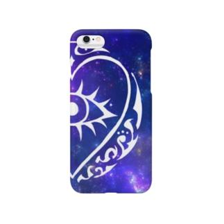HS 宇宙(ブルー)⚠iphone6,6sのみ Smartphone cases