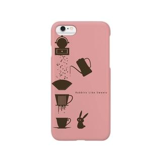 らびすいスマホケース(ピンク) Smartphone Case