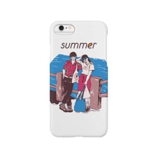 じゃ、夏なんで Smartphone cases