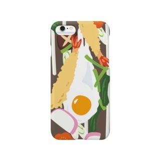 フォーリング鍋焼きうどん Smartphone cases