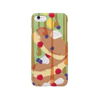 フォーリングパンケーキ Smartphone cases