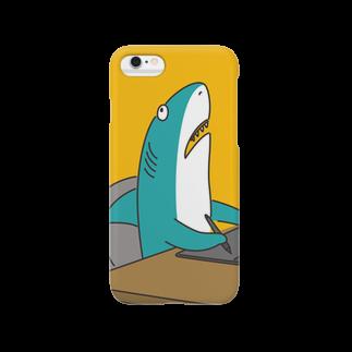 わたなべの限界が来ているサメ Smartphone cases