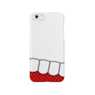 歯-HA red Smartphone cases