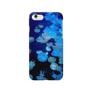 クラゲだらけ Smartphone cases