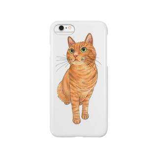 茶トラ猫 Smartphone Case