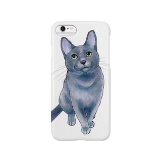 ロシアンブルー Smartphone Case