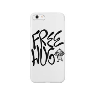 FREE HUG スマートフォンケース