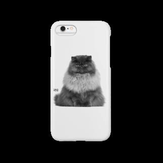 HUGオフォシャルショップのThe Cat King スマートフォンケース