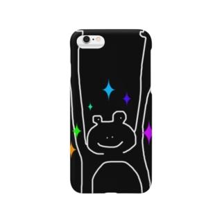 かえるちゃんナイトフィーバー Smartphone cases