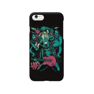 Monster Band Black Smartphone cases