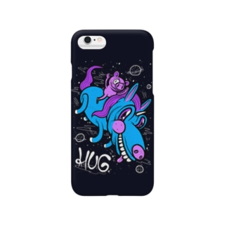 Pig & Unicorn Black Smartphone cases