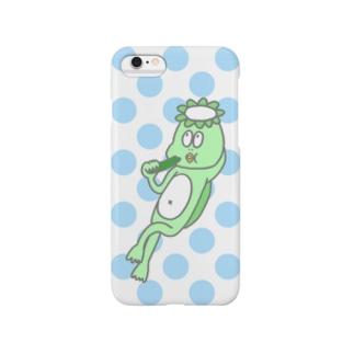 きゅうりを食べるかっぱ Smartphone Case
