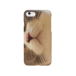 ぷくぷくねこマズル Smartphone cases