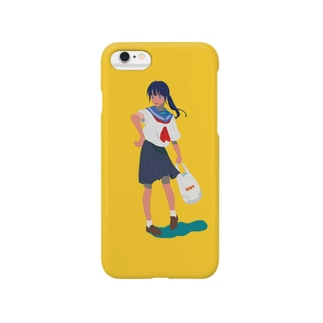 日焼け少女 Smartphone cases