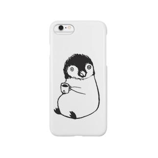 ちょこんと。ペンギン Smartphone cases
