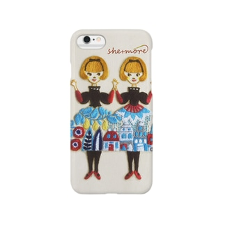 (iphone)「しーちゃんず」とご一緒に。 Smartphone cases