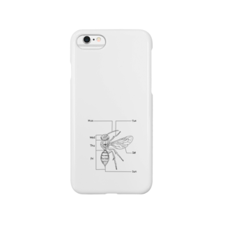 I'm not a robotのBee  Smartphone cases