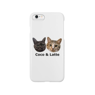 mini Coco Latte iPhone Smartphone cases