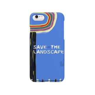 SAVE THE LANDSCAPE Smartphone cases