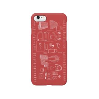 赤い冬 スマートフォンケース